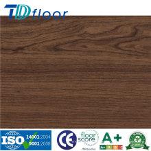 Plancher de PVC de vinyle domestique et commercial