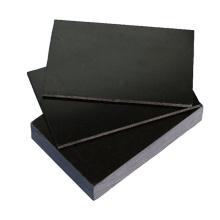 Feuille en verre de fibre époxyde d'ESD FR4 de couleur noire