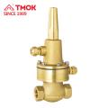 Soupape de sûreté de pression de l'eau de couleur en laiton de haute qualité