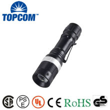 Mini 3Watt Q5 LED Torch Lanterna Zoom AA Flash Light Pequeno