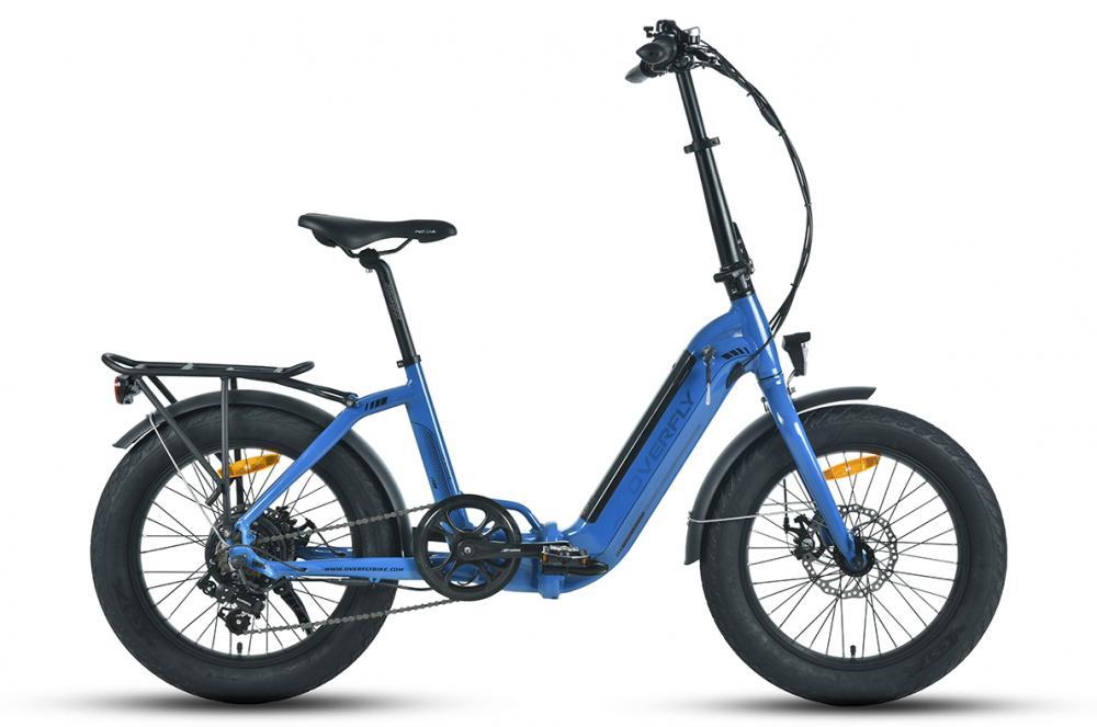 Fat tire folding bike
