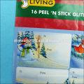 factory price custom printed label sticker glitter,sticker printing