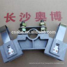 suporte de escova de alumínio material YZR