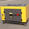Luftgekühlte 10 kva Schallschutz Diesel-Generator, 10kw Diesel-Motor Generator Preis, 10kva Silent Diesel-Generator Preisliste