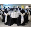cheap and high quality 100% polyester table cloth for wedding banquet hotel