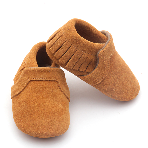 Bow Leather Shoes Kids Girl Pre-walker Baby Shoes