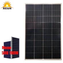 PERC 190W Monocrystalline Solar Panels