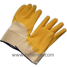 Rough Latex Half Dipped Grip Working Glove China