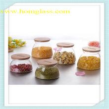Высокая боросиликатного стекла продовольственной хранения Jar