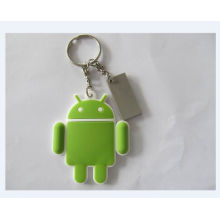 Plastic Key Ring, Custom Promotional Keychain (GZHY-KA-070)