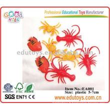 Plastic Ocean Animal Toys - Jouets de crevette