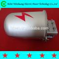 Cierre metálico de fibra óptica tipo de tapa de cierre