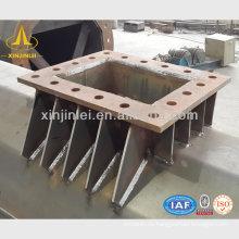 Galvanischer Polygon Stahl Elektrischer Pole
