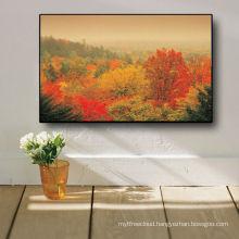 Impressionist Hot Sale Maple Leaf Canvas Paintings 2013