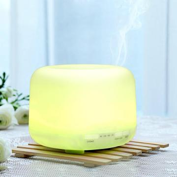 500ml Eseential Oil Diffuser Warm Light Air Humidifier