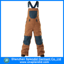 Shenzhen en gros Multi Pocket Brown 100 vêtements de travail en coton