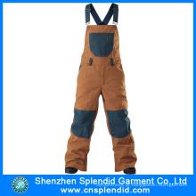 Shenzhen Atacado Multi Bolso Brown 100 Algodão Trabalho Vestuário