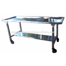 Stainless Steel Morgue Dissection Table