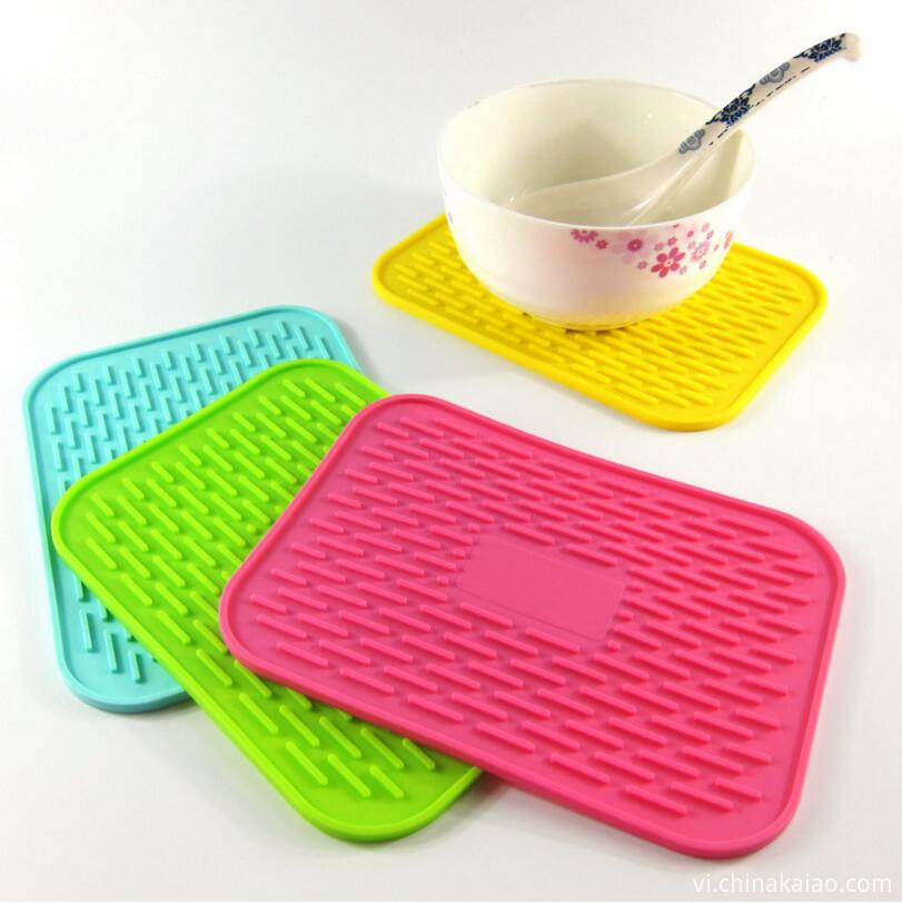 silicone draining table mat8