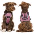 Модернизированная ткань и светоотражающая упряжь для собак