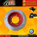 Rotor de freno contra el óxido resistente a la lluvia avanzado rojo recubrimiento de protección contra la corrosión prueba rotor freno