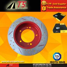 Anti freir o rotor do freio Revestimento à prova de chuva avançado revestimento vermelho proteção contra ferrugem resistente ao freio do rotor