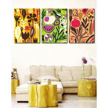 Hot Order Abstract Acrylic Paintings On Canvas For Living Room