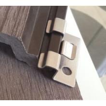 Revestimiento con revestimiento WPC de pared impermeable para el fabricante