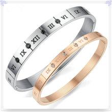 Jewelry Bracelet Fashion Jewelry Stainless Steel Bangle (BR150)