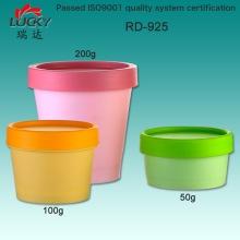 Plastic Cream Jar Fical Jar Cosmetic Jar