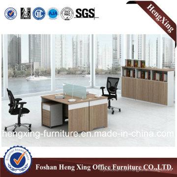 2 Seats Melamine Office Workstation Partition (HX-CRV002)