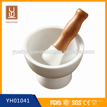 Martillo de la medicina de cerámica blanca de la porcelana