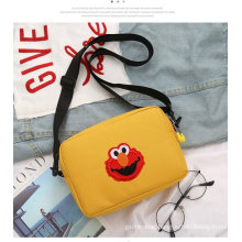 Wholesale promotion 2021 trend travel lady nylon single shoulder bag