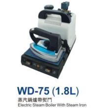 Caldeira de vapor elétrica WD-75 (1,8 L) com ferro a vapor