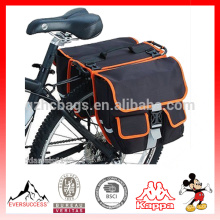 Cycling Bicycle Black Rear Double Side bicycle rear back bag Tail Seat Pannier