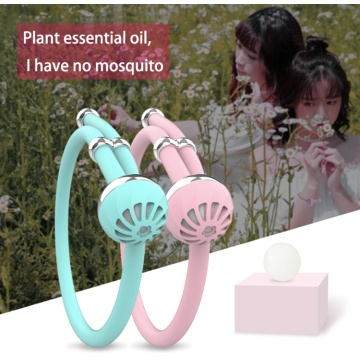 Nyaste Mosquito Silicone Armband Outdoor Repellent Bands