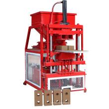 tijolo vermelho automático completo que faz a máquina