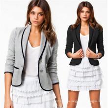 Autumn Fashion One Button Lapel Short Business Women Formal Coat