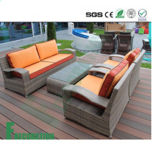 High Quality Crack-Resistant Sun-Proof Waterproof Interlocked WPC Decking