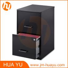 Office Furniture - Classeur à 2 tiroirs profond de 18 po, noir