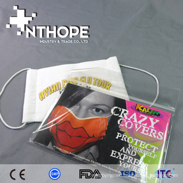 hospital consumables disposable dust cotton face mask