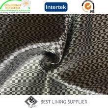 100 Polyester Satin Dobby Lining for Men′s Jacket