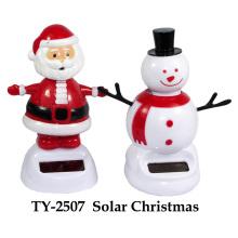 Jouets solaires de Noël