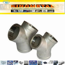 JIS B231 Forged High Pressure Stainless Steel Socket Y-Type Tee