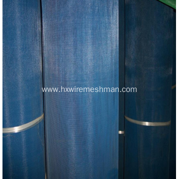 Plastic vinyl window screen