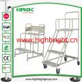 3 Step Platform Ladders Trolley