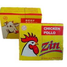 Cube de poulet, cube de bouillon, cube d'assaisonnement