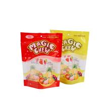 Bolsas de embalaje de dulces multicolores personalizadas