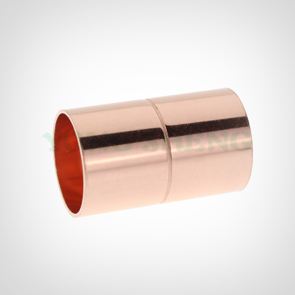 Red Copper Pipe Fitting