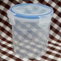 ronda de envases de alimentos impermeable plástico termosoldable de cilindro